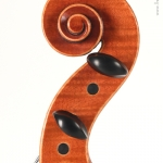 laurent lhuillier luthier - alto 06 detail volute